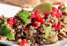 Avocado, Pomegranate, and Quinoa Salad