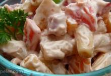 Awesome Ham Pasta Salad