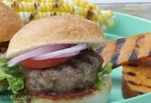 Backyard Cooper Burgers