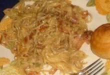 bacon & eggs spaghetti