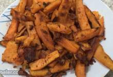 Bacon-Flavored Sweet Potato Fries