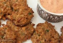 Baked Crab Cakes with Roasted Red Pepper Remoulade