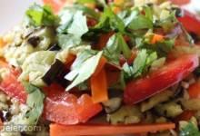 Baked Eggplant Salad