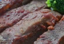 Baked Round Steak in Barbeque Sauce