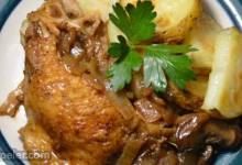 Balsamic Chicken Breasts with Porcini Mushrooms