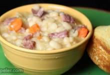 Basic Ham and Bean Soup