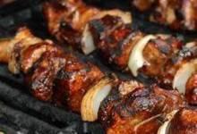 BBQ Teriyaki Pork Kabobs