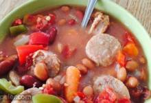 Bean and Sausage Soup