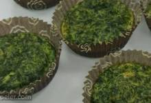Bear's Spinach Muffins