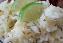 Becky's Easy Cilantro Lime Rice