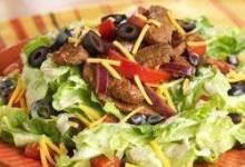 Beef Fajita Salad
