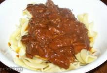 Beef Paprika