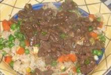 beef with green onion