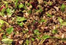 Black Bean and Wild Rice Salad
