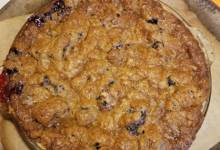blackberry-lemon pie