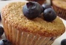 blueberry orange bran muffin