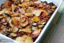 Briam (Greek Baked Zucchini and Potatoes)