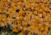 Broccoli and Stuffing Casserole