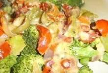 Broccoli and Tomato Bake