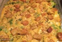 Broccoli Cheese Layer Bake