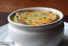 Broccoli Soup au Gratin