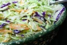 Brookville Hotel Sweet and Sour Coleslaw