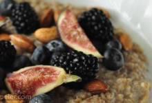 Brown Rice Breakfast Porridge