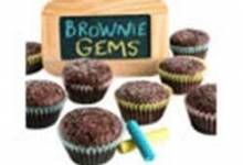 Brownie Gems Bites