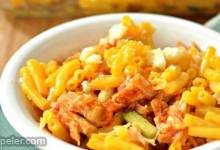 Buffalo Chicken Macaroni and Cheese