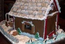 building gingerbread