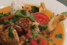 Burmese Chicken Curry (Gaeng Gai Bama)