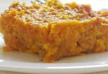cafeteria carrot souffle
