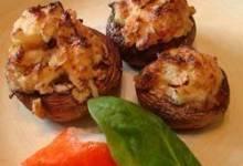 Cajun Crab Stuffed Mushrooms