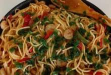 cajun spaghetti