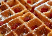 candied spam® waffles