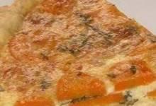 Carrot Cashew Quiche