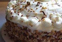 Carrot Pineapple Cake