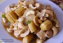 Cashew Chicken with Water Chestnuts