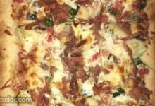 Cauliflower Prosciutto Pizza