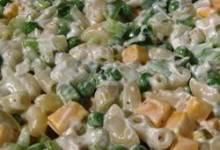 Cheddar and Macaroni Salad