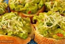 Cheesy Avocado Bites