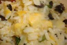 Cheesy Confetti Rice