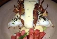 Cheesy Stuffed Lobster