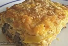 Cheesy Vegetarian Egg Bake