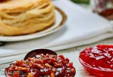 Cherry Bacon Jam with Thyme and Cloves