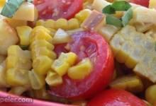 Cherry Tomato and Corn Salad