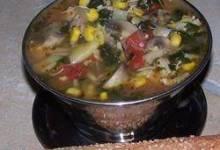 chicken and artichoke minestrone