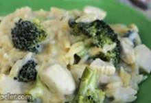 Chicken and Broccoli Alfredo Orzo