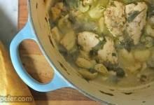 Chicken and Garlic Stew
