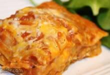 Chicken and Pumpkin Lasagna